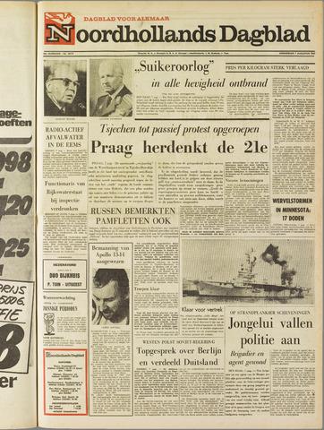 Noordhollands Dagblad : dagblad voor Alkmaar en omgeving 1969-08-07