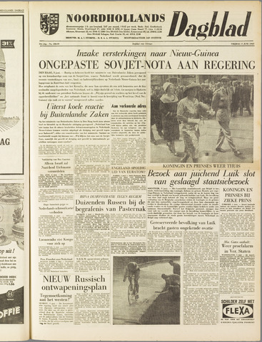 Noordhollands Dagblad : dagblad voor Alkmaar en omgeving 1960-06-03