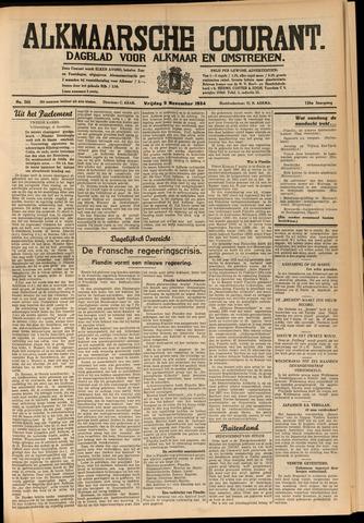 Alkmaarsche Courant 1934-11-09