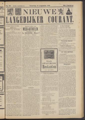 Nieuwe Langedijker Courant 1925-08-15