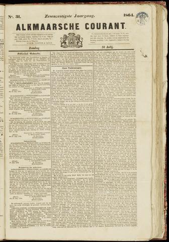 Alkmaarsche Courant 1864-07-31