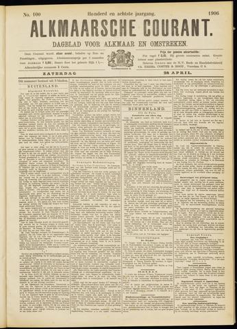 Alkmaarsche Courant 1906-04-28