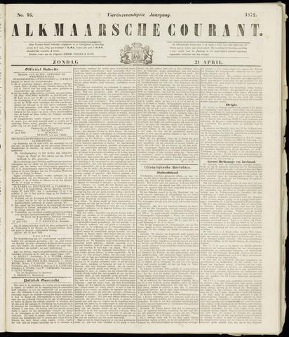 Alkmaarsche Courant 1872-04-21