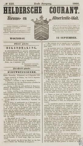 Heldersche Courant 1866-09-12