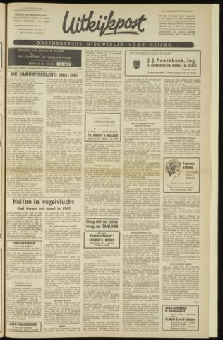 Uitkijkpost : nieuwsblad voor Heiloo e.o. 1962-12-28