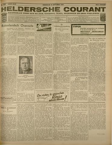 Heldersche Courant 1934-09-13