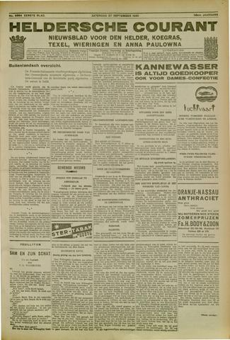 Heldersche Courant 1930-09-27