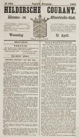 Heldersche Courant 1869-04-21