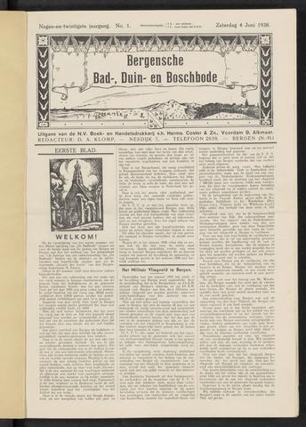 Bergensche bad-, duin- en boschbode 1938-06-04