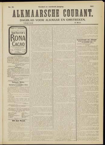 Alkmaarsche Courant 1912-05-17
