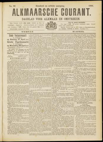 Alkmaarsche Courant 1906-04-13