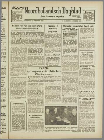 Nieuw Noordhollandsch Dagblad : voor Alkmaar en omgeving 1946-09-11