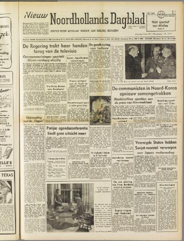 Nieuw Noordhollandsch Dagblad : voor Alkmaar en omgeving 1951-05-09