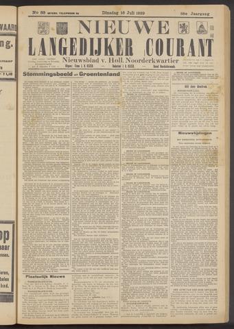 Nieuwe Langedijker Courant 1929-07-16