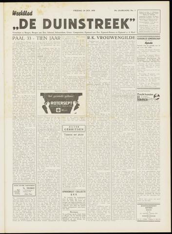 De Duinstreek 1958-01-24