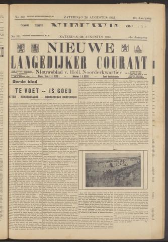 Nieuwe Langedijker Courant 1933-08-26