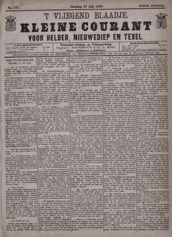 Vliegend blaadje : nieuws- en advertentiebode voor Den Helder 1880-07-27