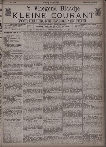 Vliegend blaadje : nieuws- en advertentiebode voor Den Helder 1887-07-23