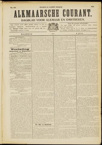 Alkmaarsche Courant 1910-07-04