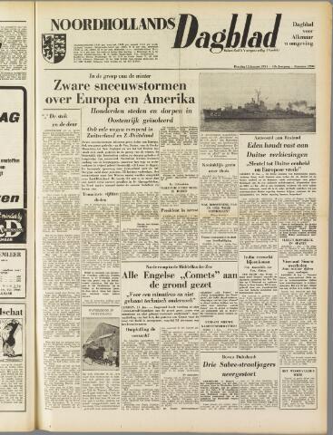 Noordhollands Dagblad : dagblad voor Alkmaar en omgeving 1954-01-12