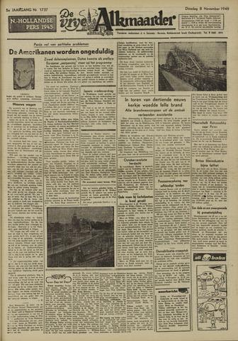 De Vrije Alkmaarder 1949-11-08
