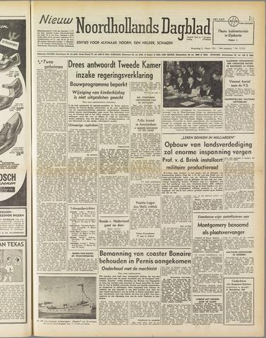 Nieuw Noordhollandsch Dagblad : voor Alkmaar en omgeving 1951-03-21