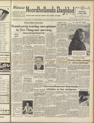 Nieuw Noordhollandsch Dagblad : voor Alkmaar en omgeving 1951-01-30