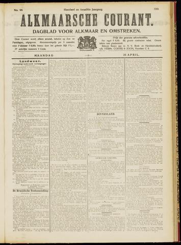 Alkmaarsche Courant 1910-04-25