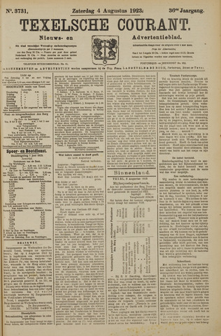 Texelsche Courant 1923-08-04
