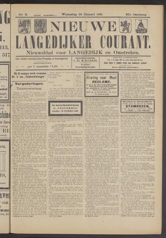 Nieuwe Langedijker Courant 1921-01-26
