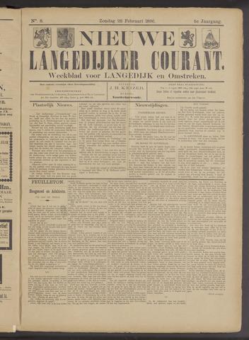 Nieuwe Langedijker Courant 1896-02-23