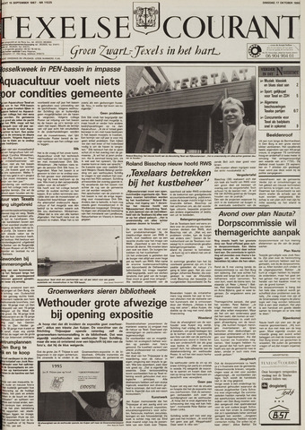 Texelsche Courant 1995-10-17