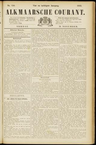 Alkmaarsche Courant 1882-11-24