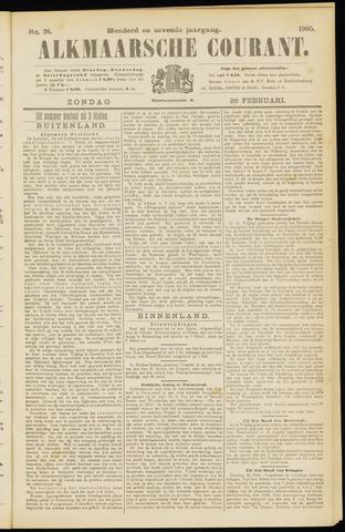 Alkmaarsche Courant 1905-02-26