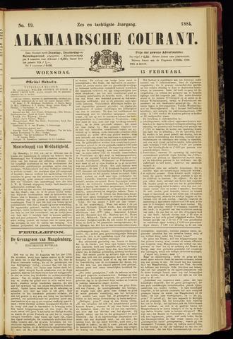 Alkmaarsche Courant 1884-02-13