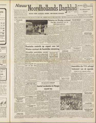 Nieuw Noordhollandsch Dagblad : voor Alkmaar en omgeving 1949-05-13