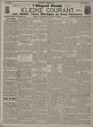 Vliegend blaadje : nieuws- en advertentiebode voor Den Helder 1910-08-27