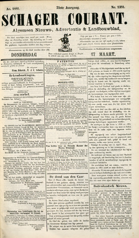Schager Courant 1881-03-17