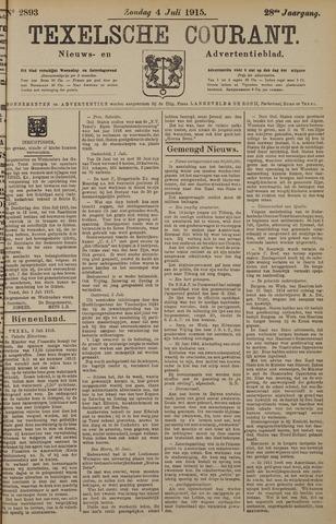 Texelsche Courant 1915-07-04