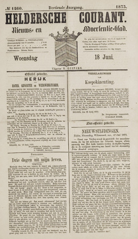 Heldersche Courant 1873-06-18