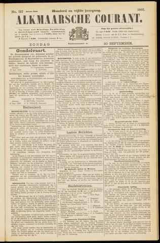 Alkmaarsche Courant 1903-09-20