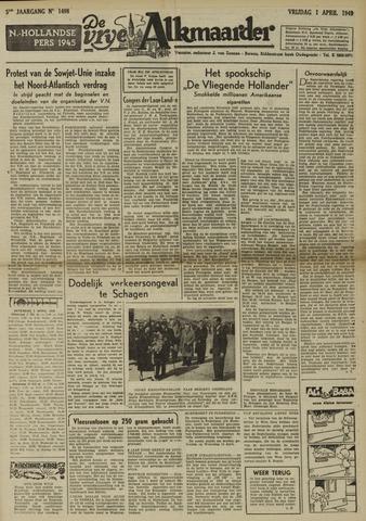 De Vrije Alkmaarder 1949-04-01