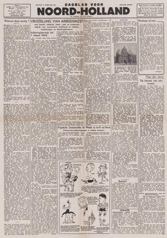Dagblad Noord-Holland, Schager editie 1944-02-15
