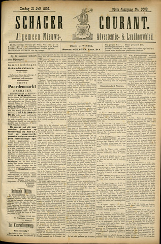 Schager Courant 1895-07-21