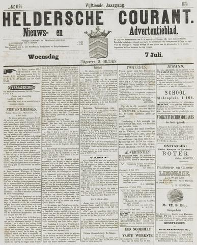 Heldersche Courant 1875-07-07