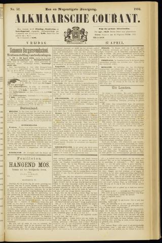 Alkmaarsche Courant 1894-04-27