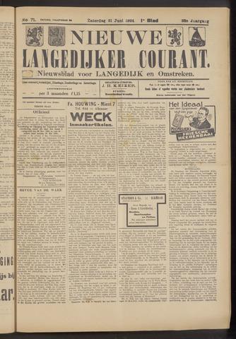 Nieuwe Langedijker Courant 1924-06-21