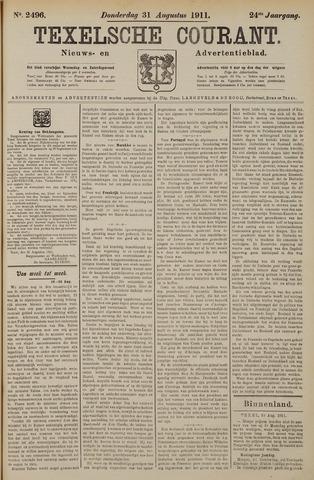 Texelsche Courant 1911-08-31