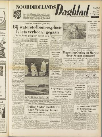 Noordhollands Dagblad : dagblad voor Alkmaar en omgeving 1954-03-25