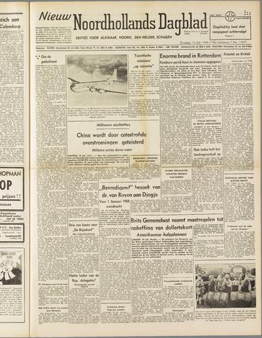 Nieuw Noordhollandsch Dagblad : voor Alkmaar en omgeving 1949-07-19